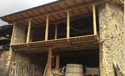 restauración de caserios