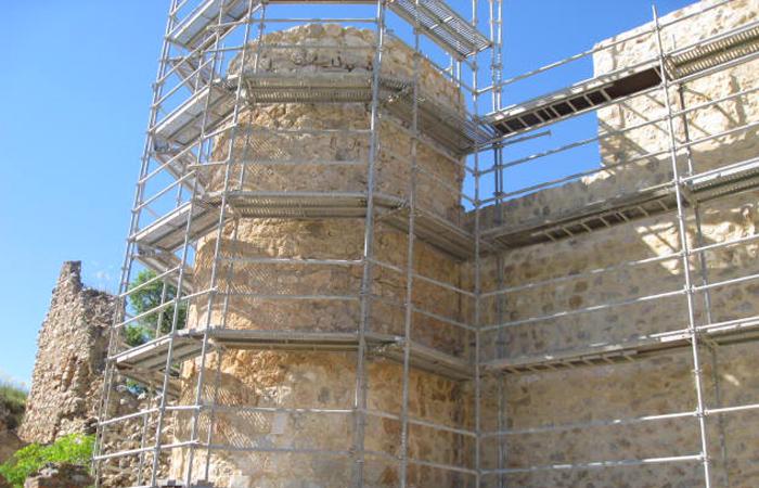 rehabiltiación de castillo