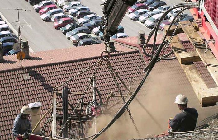 Empresa de construcción de obras especiales