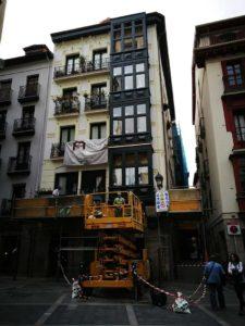 restauración de ventanales de madera